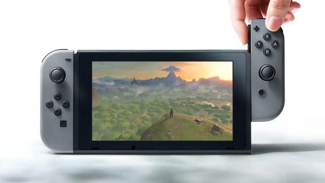 Tay cầm Nintendo Switch lớn có thể chia thành 2 tay cầm nhỏ hơn