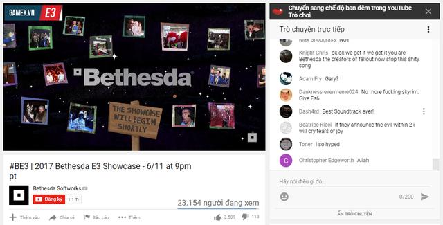 Ở thời điểm 1 tiếng trước khi sự kiện bắt đầu, đã có 23 nghìn người ngồi xem màn hình chờ