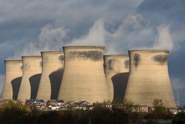 Nhà máy sản xuất điện từ than Ferrybridge C ở phía Bắc nước Anh, đã đóng cửa vào năm ngoái.