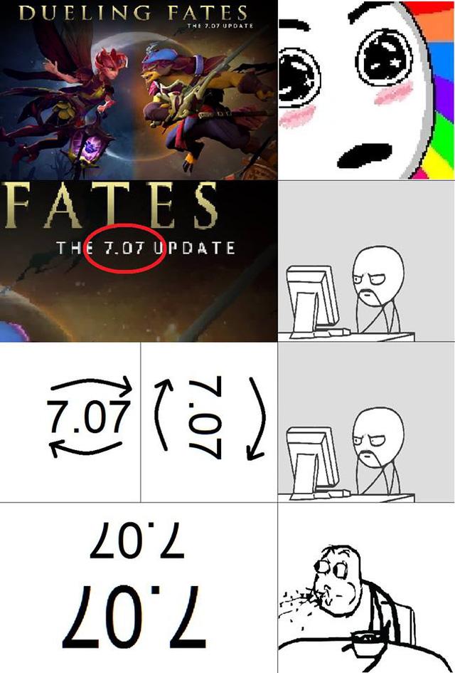 Bức ảnh hài hước cho thấy DOTA 2 đang biến thành... LOL trong phiên bản mới này!