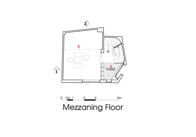Sơ đồ bố trí nội thất và chức năng trong ngôi nhà: nhỏ hẹp nên cần tối giản nhưng vẫn đảm bảo sự tiện nghi