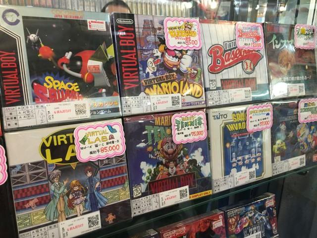 Game Virtual Lab cực hiếm trên Virtual Boy có giá lên tới 18 triệu đồng