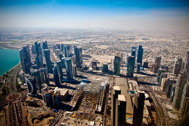 Và đây là hình ảnh thủ đô Doha ngày nay.