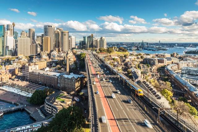 Đường chân trời của thành phố đã phát triển nhanh chóng kể từ đó, với những tòa nhà lớn nhất nước Úc.