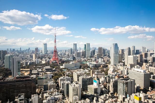 Đến nay Tokyo đã trở nên đông đúc hơi gấp bội phần