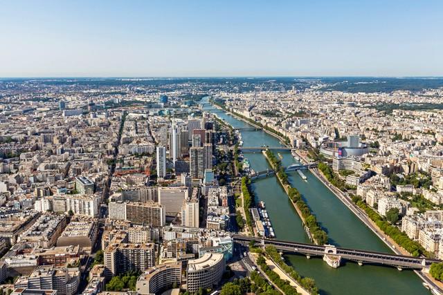 Ngày nay, thành phố này đã trở nên đông đúc với các tòa nhà.