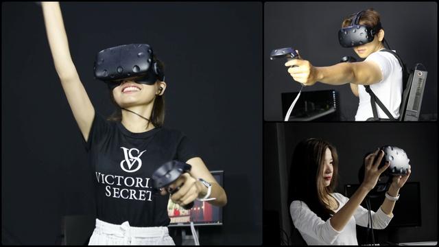 Sự thích thú của khách hàng khi lần đầu được trải nghiệm các tựa game thực tế ảo (VR)