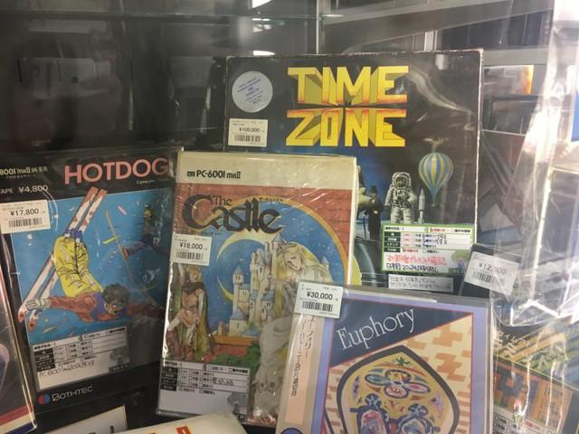 Bản sao của game Time Zone dành cho máy tính Apple II có giá hơn 20 triệu đồng