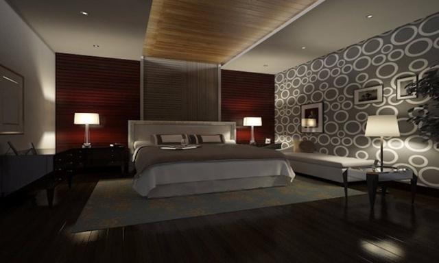 Mô hình một phòng ngủ sau khi hoàn thiện