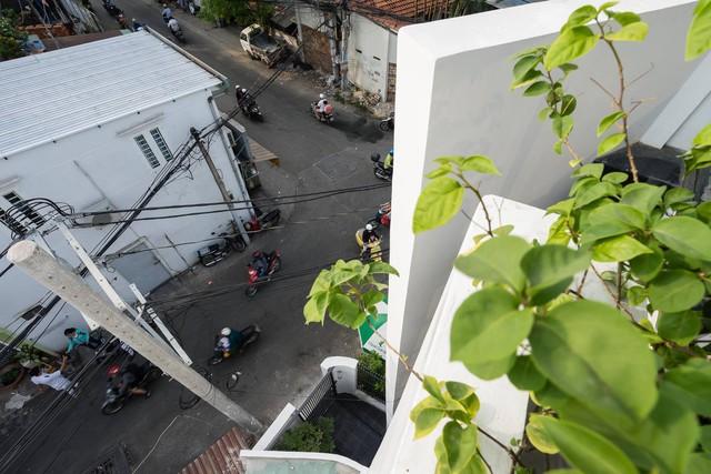 Tầm nhìn từ tầng cao nhất của Torn House