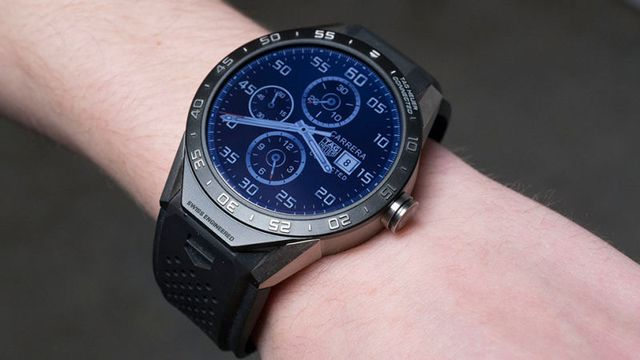 Một phiên bản smartwatch TAG Heuer Connected.