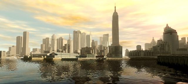 Liberty City trong Grand Theft Auto chính là bản sao của thành phố New York.