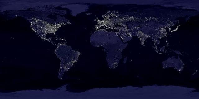 Trái đất trong kỷ nhân sinh - thời kì những hoạt động sống của con người là yếu tố quyết định cho việc định hình trái đất