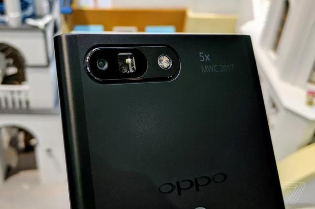 Camera zoom 5x trên nguyên mẫu của Oppo.