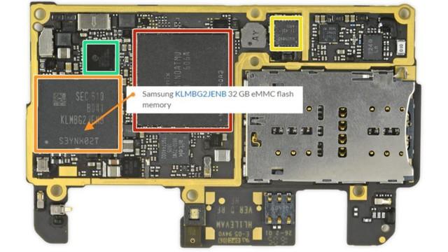 Một bộ nhớ 32GB của Samsung.