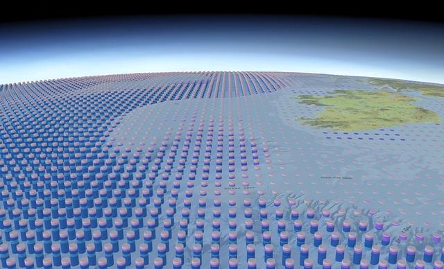 Tấm bản đồ 3D về toàn bộ Đại dương trên bề mặt Trái Đất