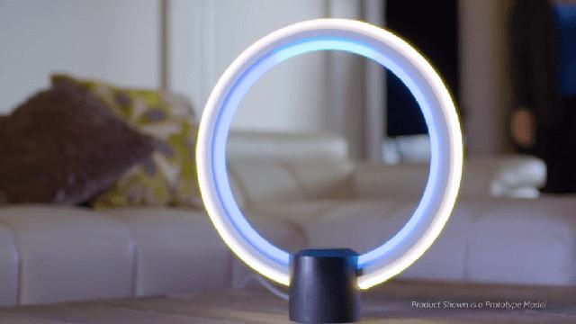 Chiếc đèn thông minh C của GE Lamp.