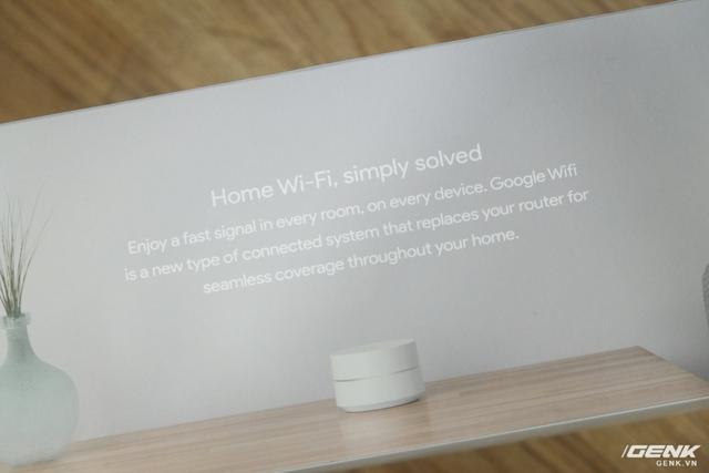 Tận hưởng kết nối nhanh ở mọi phòng, trên mọi thiết bị. Google Wifi là một hệ thống kết nối mới, thay thế router của bạn để có một đường truyền ổn định xuyên suốt ngôi nhà.