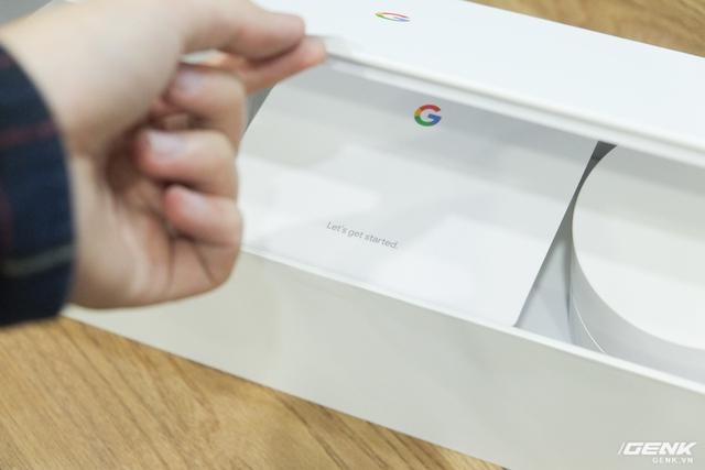 Mở hộp sản phẩm Google Wifi