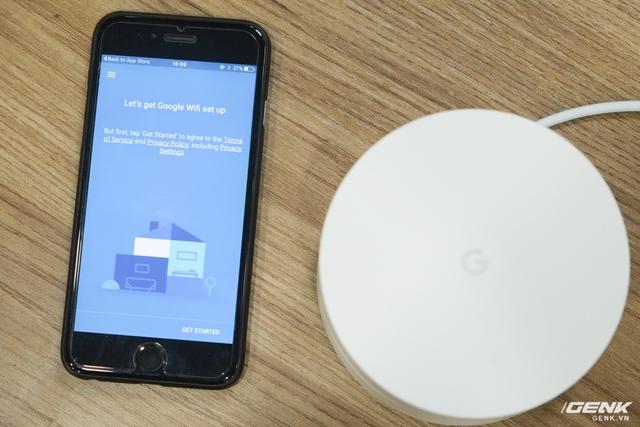 Thiết lập Google Wifi bằng ứng dụng trên smartphone