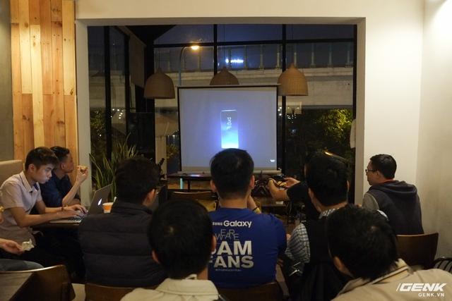 Sự kiện ra mắt Galaxy S8 thu hút được sự quan tâm đông đảo của người dùng Việt Nam