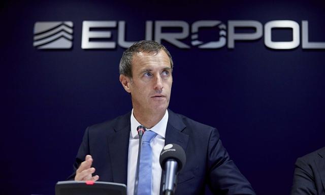 Giám đốc Europol ông Robert Wainwright