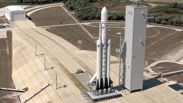 Ảnh dựng từ SpaceX