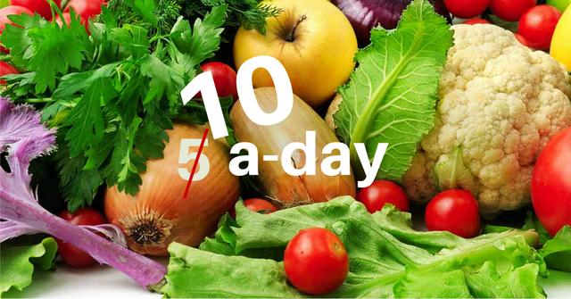 Không còn là 5 khẩu phần rau quả mỗi ngày, các nhà khoa học cho biết con số giờ nên gấp đôi