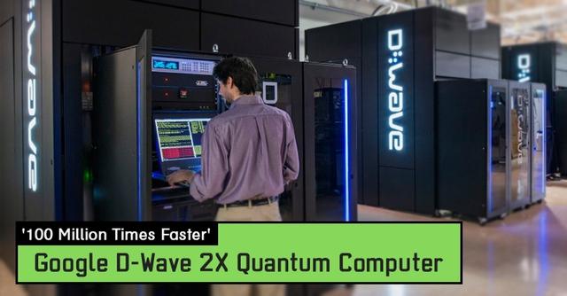 Chiếc máy tính D-Wave 2X với tốc độ nhanh hơn những chiếc PC hàng triệu lần.