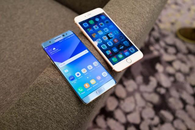 Note 7 và iPhone 7 đều không đạt được kỳ vọng của người dùng.