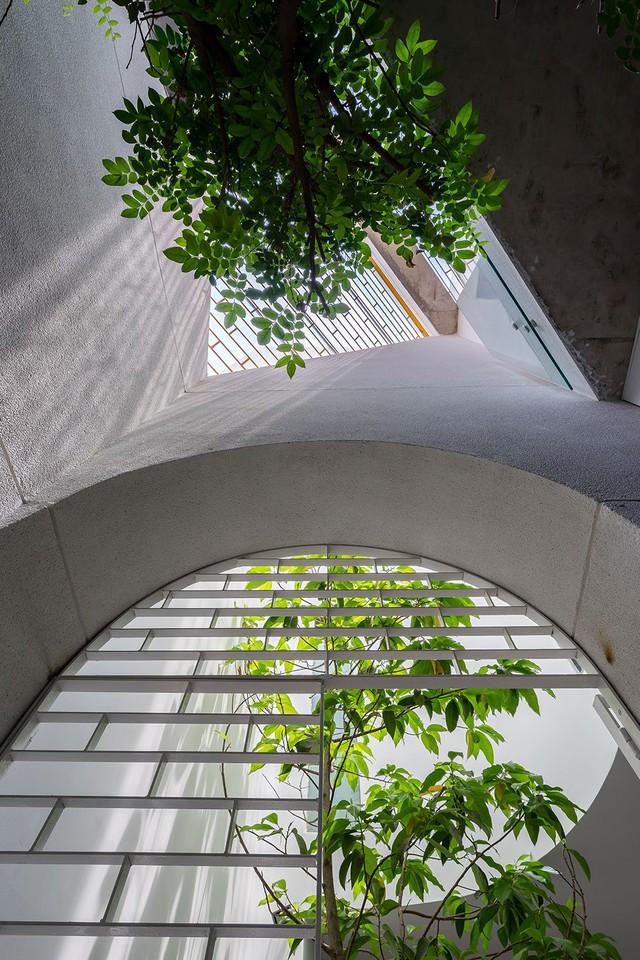 Mỗi góc nhìn được đúc kết từ sự giao nhau giữa các diện tường đều đem lại sự thích thú cho mọi người