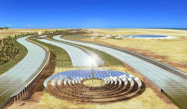 Nền nông nghiệp nước biển và sử dụng năng lượng tái tạo mà Bushnell muốn hướng đến