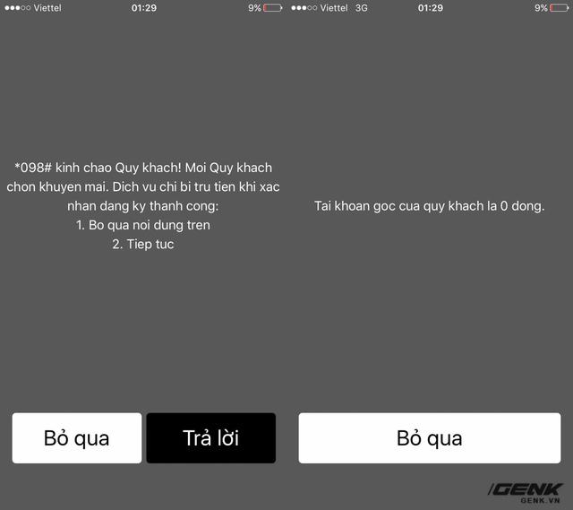 Hãy cùng lướt qua một lượt các lỗi phổ biến trên iPhone Lock xem sao. Đầu tiên với USSD Code, người dùng có thể thực hiện các cú pháp như *101# mà không gặp trở lại.