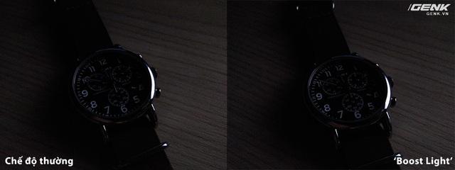 Tính năng Boost Light không mang đến hiệu quả rõ rệt