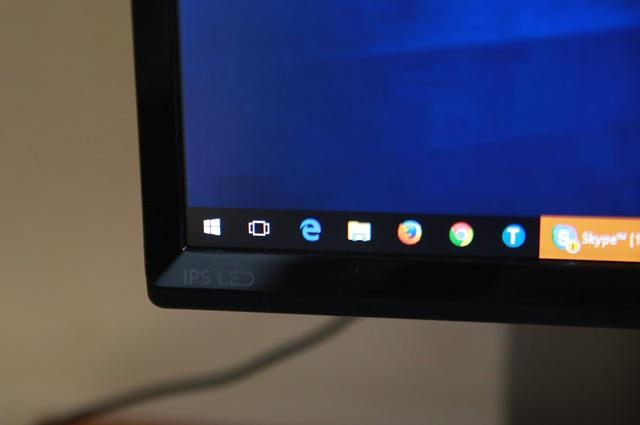 LG nhấn mạnh rằng đây là một chiếc màn hình có tấm nền IPS cao cấp và dùng đèn nền LED siêu sáng, siêu tiết kiệm điện.