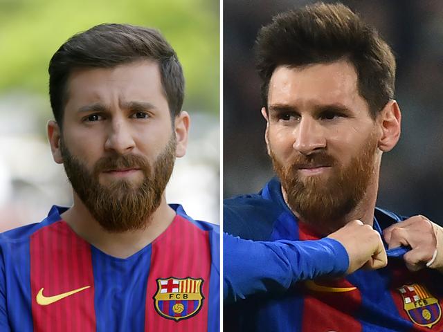 Đố biết ai là Messi thật?