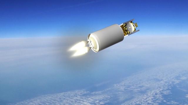 Mô phỏng việc phóng tên lửa ACES của ULA.