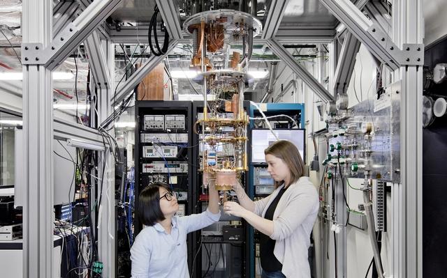 IBM đang nỗ lực thương mại hóa máy tính lượng tử.