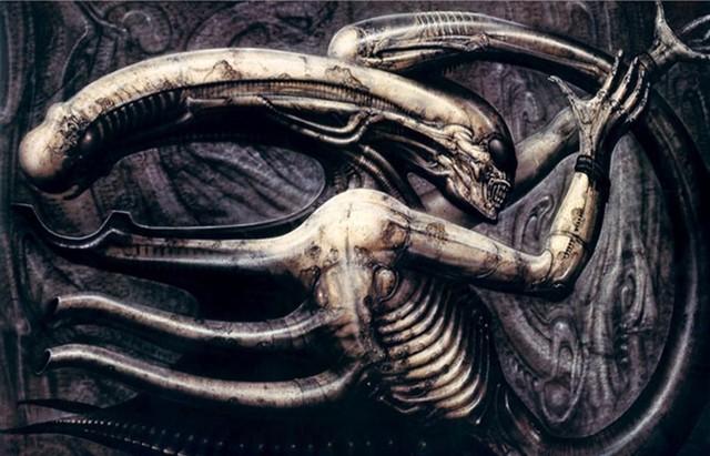 Hình ảnh sinh vật quái dị từ cuốn sách Necronom IV.