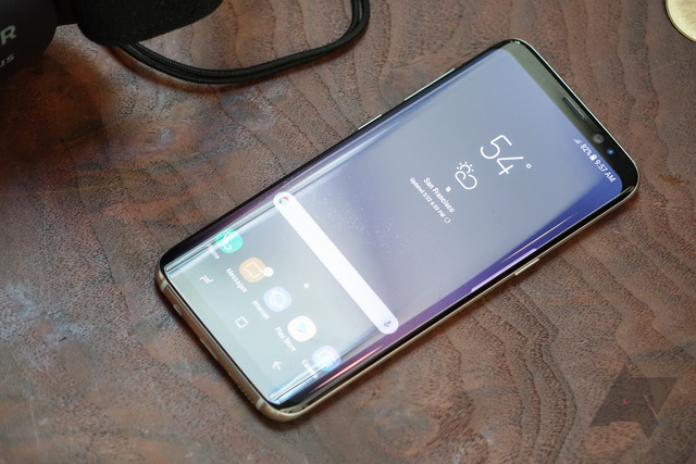 Galaxy S8 đã chính thức được ra mắt