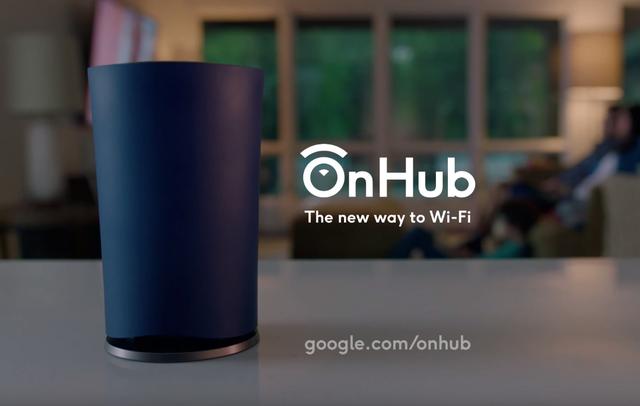 OnHub được Google ra mắt vào năm ngoái.