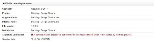 Trình duyệt Betaling – Google Chrome nhắm vòa người dùng Hà Lan.