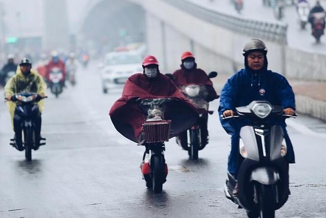 Trời lạnh và mưa phùng là cơn ác mộng thực sự.