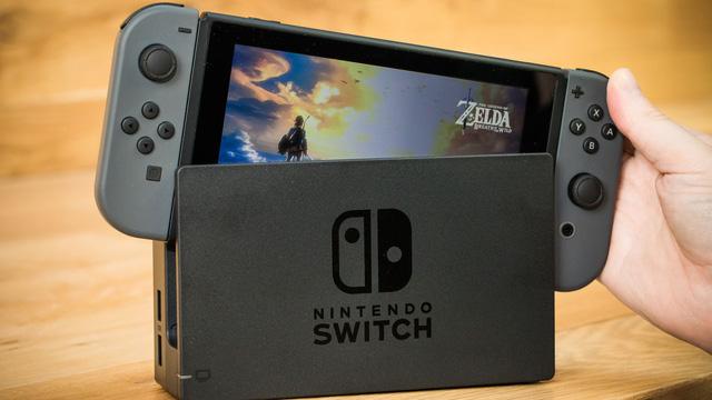 Nintendo Switch vừa chính thức lên kệ được vài ngày.