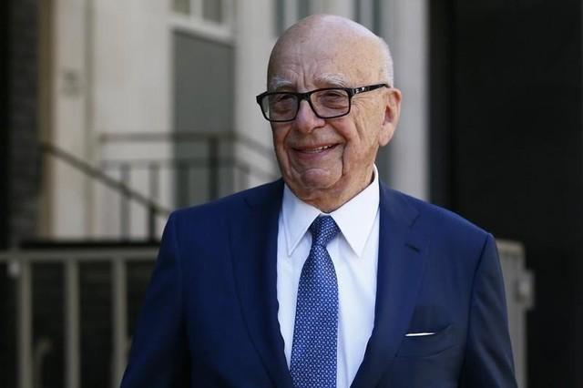 Tỷ phú giới truyền thông Ruport Murdoch.