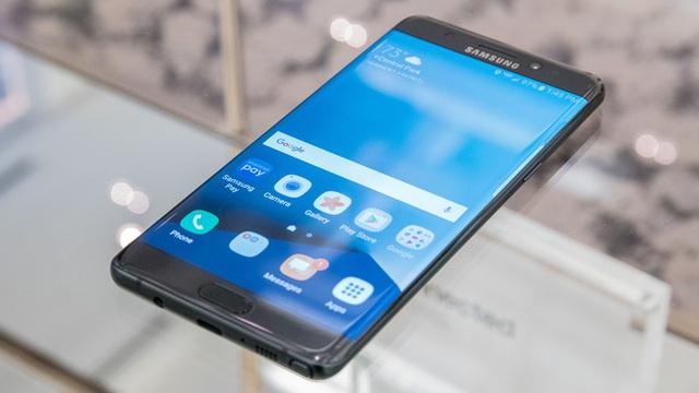 Giữa tháng 10 năm ngoái, Samsung công bố quyết định ngừng bán Note7 trên toàn cầu để khắc phục sự cố.