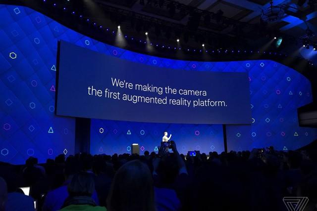 Facebook đang phát triển cả một nền tảng thực tế tăng cường cho camera.