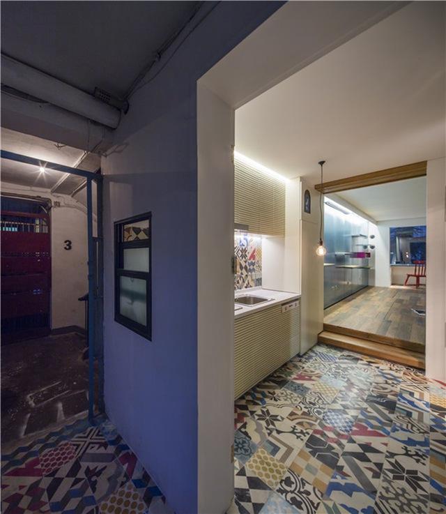 Phần không gian thứ nhất nằm ngay cạnh lối cửa chính