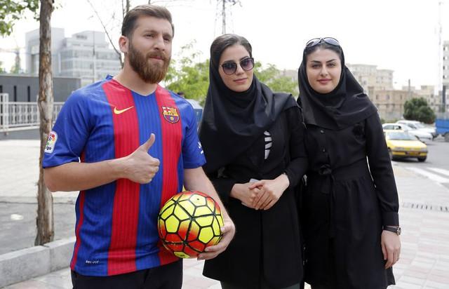 Anh chàng Messi người Ba Tư này quả thực rất may mắn!