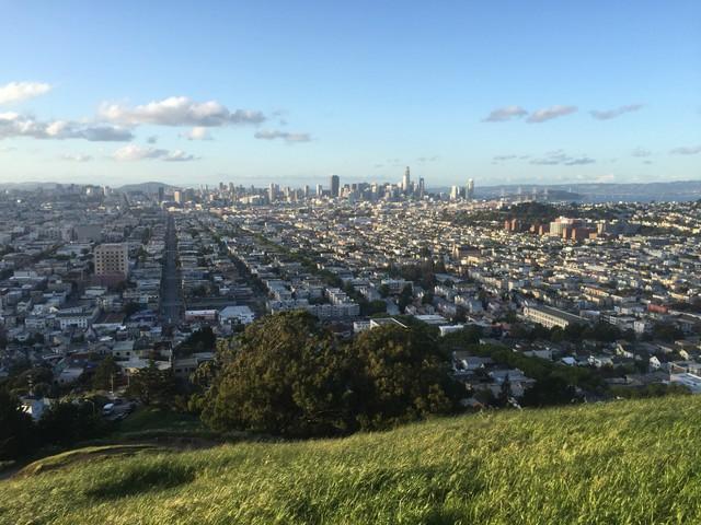 Quang cảnh San Francisco, ngôi nhà mới của tôi